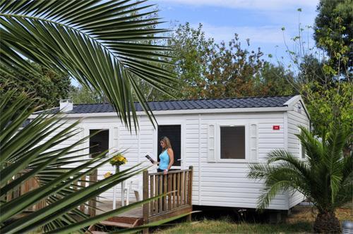 Argelès-sur-Mer - CLUB VACANCES - Mobil-home 6 personnes pour 137.00€