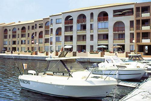 Port Barcarès - RESIDENCE LAGRANGE LE HAMEAU CATALAN - Maisonnette 2 pièces mezzanine 4 personnes pour 188.00€