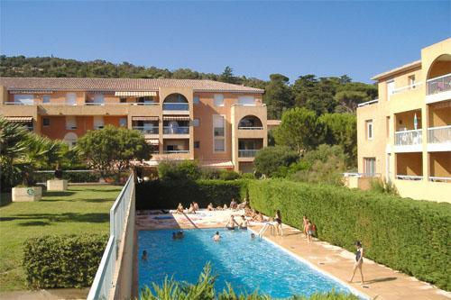 Cavalaire-sur-Mer - RESIDENCE LAGRANGE VILLA BARBARA - Studio 4 personnes pour 240.00€