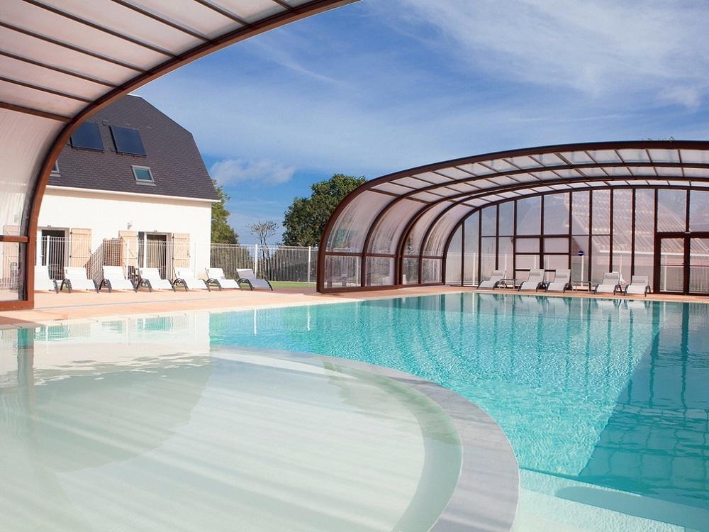 Residence le domaine de la corniche location bord mer for Hotel avec piscine calvados