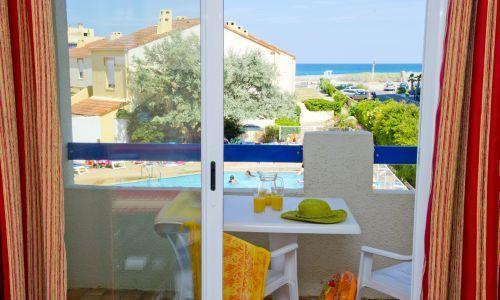 Port Barcarès - RESIDENCE LE GRAND BLEU - Studio cabine 2-4 personnes pour 145.00€