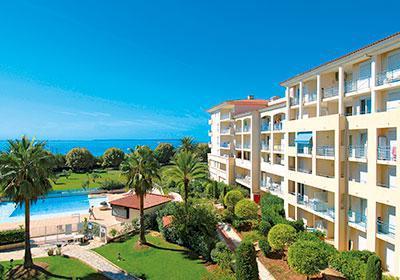 Rental Residence Open Pins Bleus sea
