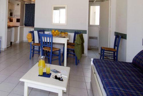 Studio cabine 1-3 personnes - Les Terrasses de Fort Boyard - Fouras - Séjour