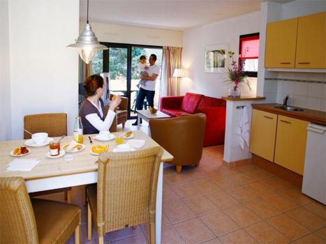Appartement 2 pièces 4 personnes - Résidence-Club Saint Loup - Cap d'Agde - Séjour