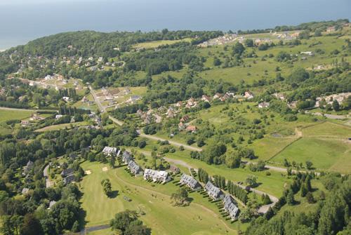 Résidence Lagrange les Hauts de Clairvallon - Houlgate - Extérieur été