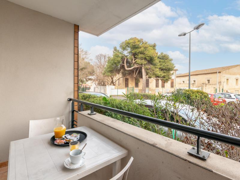 Appartement 2 pièces 4 personnes (climatisé) - Résidence le Fonsérane - Béziers - Balcon