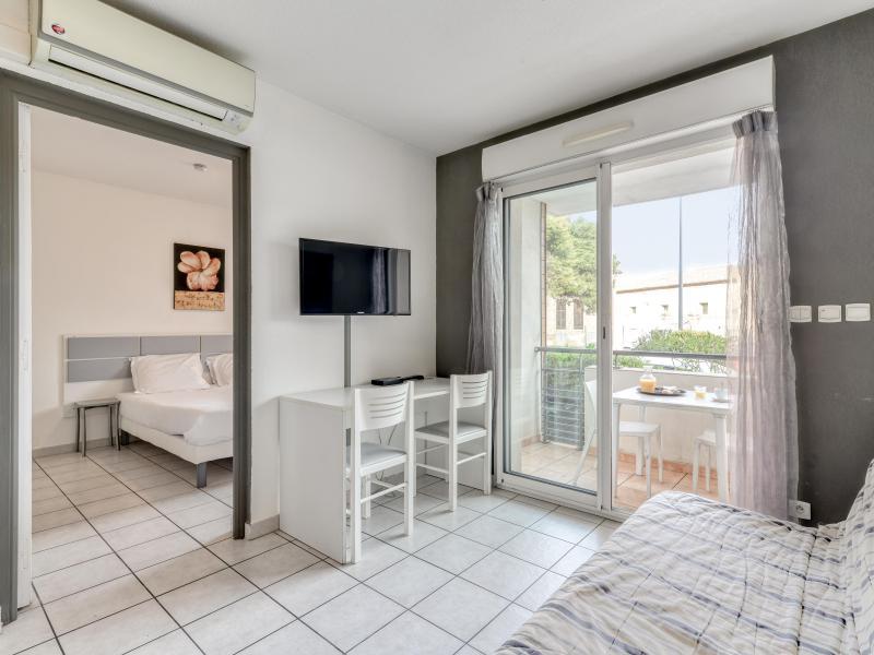 Appartement 2 pièces 4 personnes (climatisé) - Résidence le Fonsérane - Béziers - Séjour