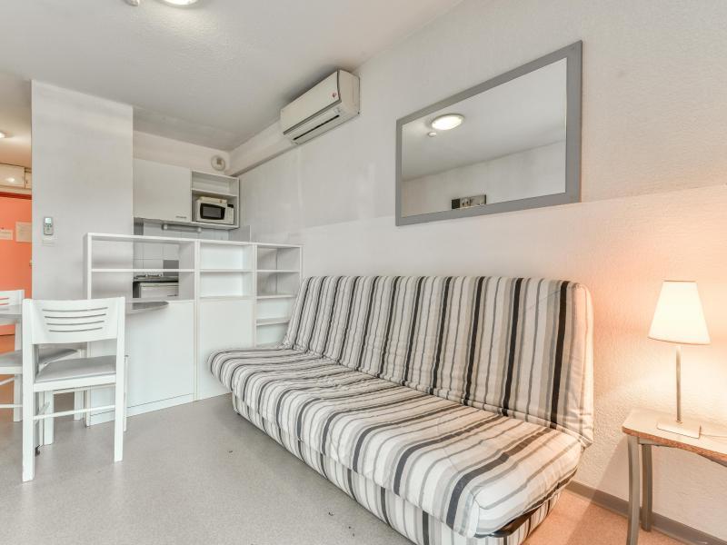 Studio 2 personnes (climatisé) - Résidence le Fonsérane - Béziers - Séjour