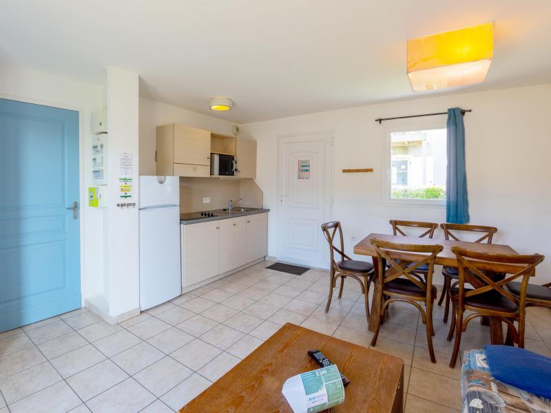 2 room apartment cabin 4-6 people - Résidence les Terrasses de Pentrez Plage - Pentrez Plage - Living room