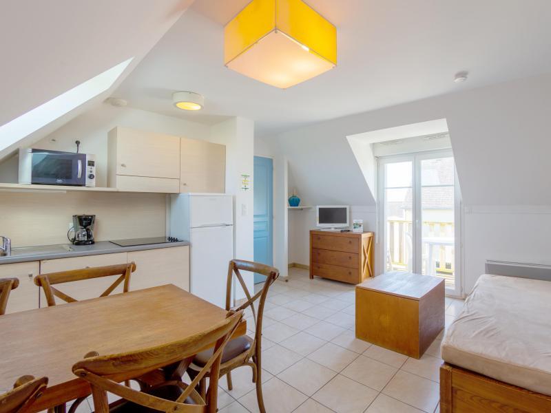 2 room apartment cabin 5 people - Résidence les Terrasses de Pentrez Plage - Pentrez Plage - Living room