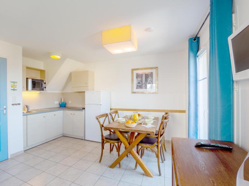 2 room duplex cottage 4 people - Résidence les Terrasses de Pentrez Plage - Pentrez Plage - Living room