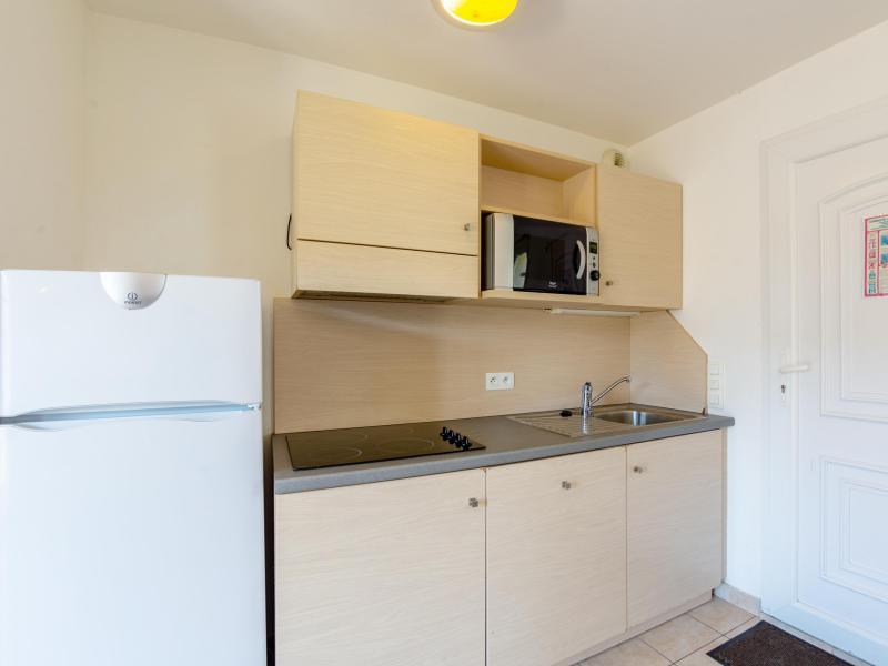 Appartement 2 pièces cabine 4-6 personnes - Résidence les Terrasses de Pentrez Plage - Pentrez Plage - Cuisine