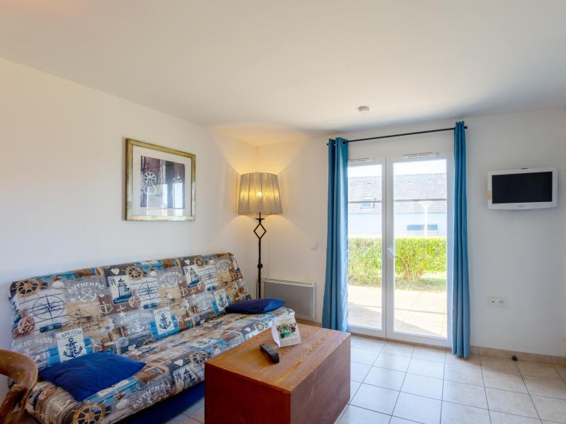 Appartement 2 pièces cabine 4-6 personnes - Résidence les Terrasses de Pentrez Plage - Pentrez Plage - Séjour