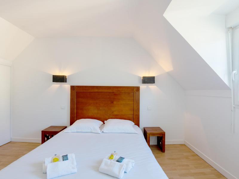 Appartement 2 pièces cabine 5 personnes - Résidence les Terrasses de Pentrez Plage - Pentrez Plage - Chambre