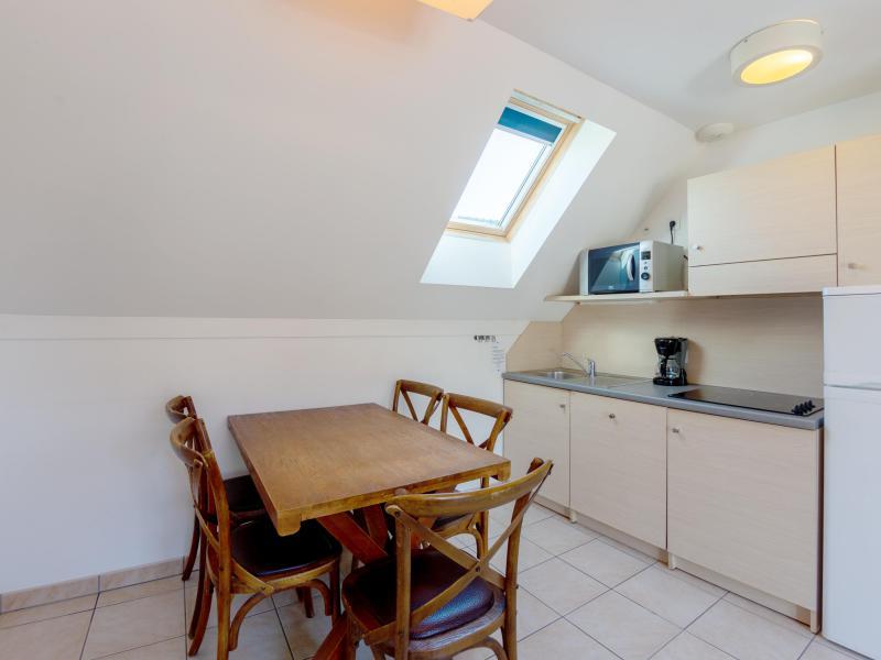 Appartement 2 pièces cabine 5 personnes - Résidence les Terrasses de Pentrez Plage - Pentrez Plage - Coin repas