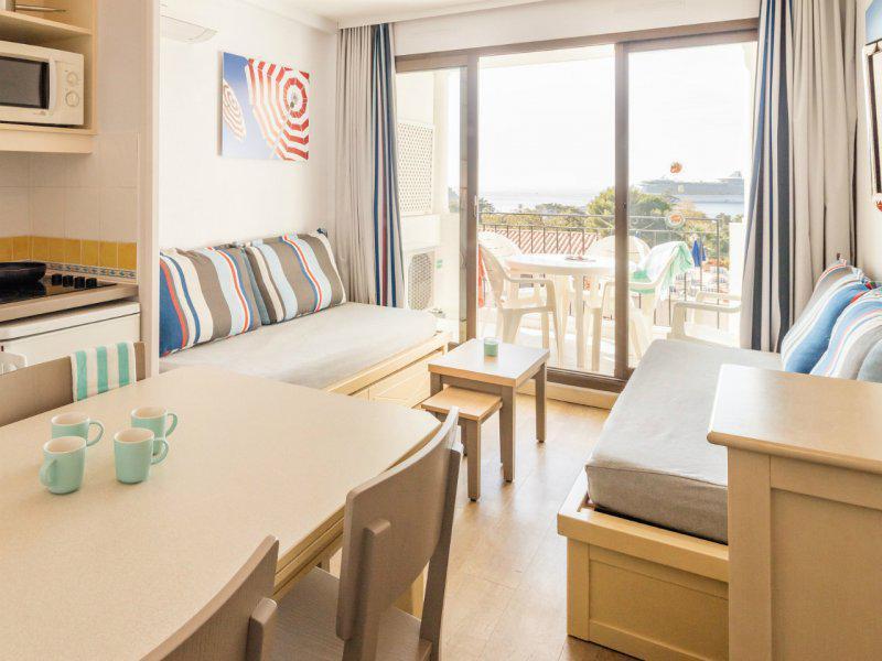 2 room apartment 3-5 people (seasight) - Résidence P&V l'Ange Gardien - Villefranche-sur-Mer
