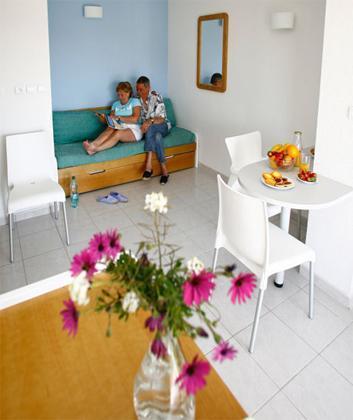 Studio 1-3 people - Résidence Primavera - Cap d'Agde - Living room